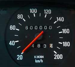 auto tellerstand controleren