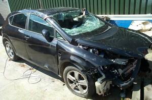 Auto schade geleden